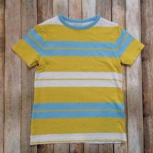 Boden Stripped Yellow Tee